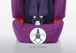 EVOLVA 123 SL SICT - CLICK & SAFE AUDIBLE HARNESS SYSTEM