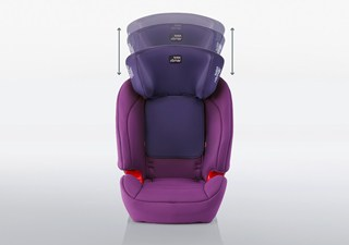 EVOLVA 123 SL SICT - EASY ADJUSTABLE HEADREST